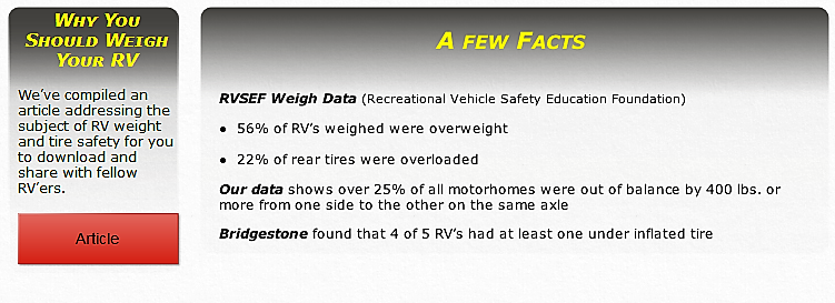 RV Weigh-Mobile Weigh Station – Detailed Weigh Reports